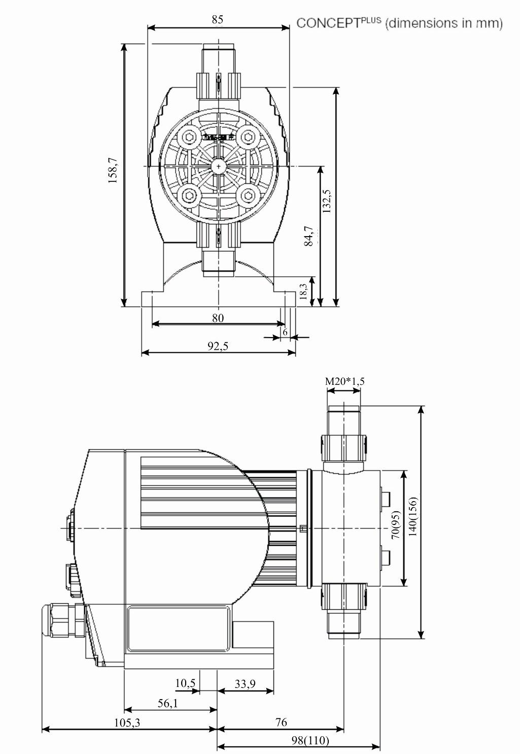 электрическая принципиальная схема насоса